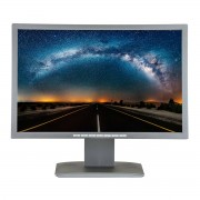 Fujitsu-Siemens B24W-6, 24 inch LED, 1920 x 1200 Full HD, 16:10, displayport, negru - argintiu, monitor refurbished