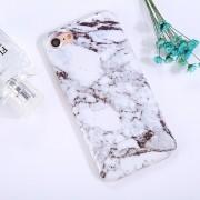 Para IPhone 8 Y 7 Tinta Patron TPU Protector Marmol Cobertura Completa A Prueba De Golpes Volver Funda