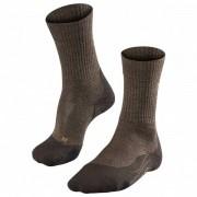 Falke TK2 Wool Calze da trekking (44-45, nero/marrone)