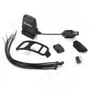 FitCare Bluetooth 4.0 Bicicleta de velocidad de ciclismo Sensor para Iphone Negro