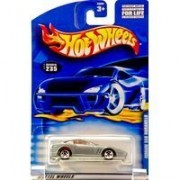 2000 - Mattel - Hot Wheels - Collector #235 - Ferrari 550 Maranello - Silver / Red Interior - Custom Wheels -...