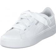 Puma Puma Vikky Stacked Puma White-puma White, Skor, Sneakers & Sportskor, Låga sneakers, Vit, Dam, 41