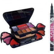ADS Makeup kit with Sketch Pen Eyeliner(Set of 2)
