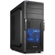 Carcasa T3-V, MiddleTower, Fara sursa, Negru