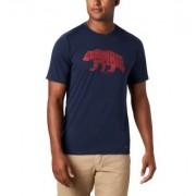 Columbia T-shirt Terra Vale II - Homme Bleu Grizzly Walk S