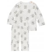 HEMA Baby Pyjama Wit (wit)