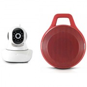 Mirza Wifi CCTV Camera and Clip Bluetooth Speaker for SONY xperia E4 dual(Wifi CCTV Camera with night vision |Clip Bluetooth Speaker)