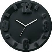 Guzzini Zegar ścienny 3-6-9-12 czarny
