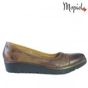 Pantofi dama, din piele naturala 24409/Bej-Laser/Tiziana