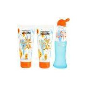 Moschino Kit Feminino I Love Love Eau De Toilette 50ml Body Lotion 100ml Bath Shower 100ml