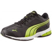 Puma Men's Tazon VI DP Black Mesh Running Shoes - 7 UK/India (40.5 EU)