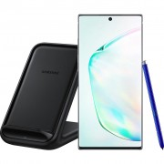 Samsung Galaxy Note 10 Plus 256 GB Zilver + Samsung Wireless Charger Stand 15W