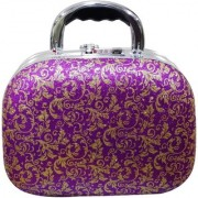 Pride Orchid to store cosmetics Vanity Box (Purple)
