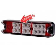 LED hátsó lámpa keskeny 10-30V