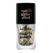 ESSENCE MADE TO SPARKLE - TOP COAT LENTEJUELAS 01 POUR SOME GLITTER ON ME