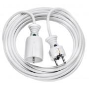 Hosszabítókábel 3m fehér H05VV-F 3G1,5