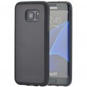Case Para Celulares, PC TPU Antigravedad Mágico Nano Pegajosa Del Caso Para Samsung Galaxy S7 (Negro)