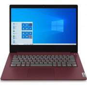 "Лаптоп Lenovo IdeaPad 3 14IIL05 - 14"" FHD IPS, Intel Core i5-1035G4, Черешово червено"