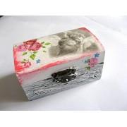 cutie lemn decorata 21077