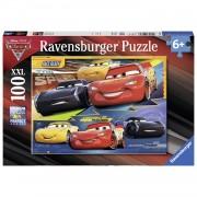 Ravensburger XXL puzzel Disney Cars 3 Duel der kampioenen - 100 stukjes