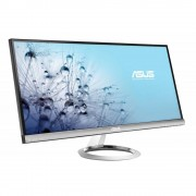 """Monitor 29"""" ASUS LED MX299Q, AH-IPS, 21:9, 2560x1080, 5ms, 300cd/mp, 80M:1/ 1000:1, 178/178, Flicker free, DVI, HDMI/ MHL, DP, speakers with Bang &"""