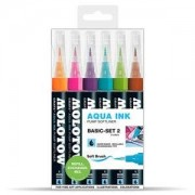 Molotow Softliner GRAFX Aqua Ink 6 Pennor - Basic II&nbsp
