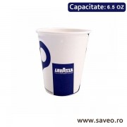 Pahare Carton Lavazza 6.5 oz (190ml) 50 buc/set