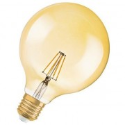 Vintage 1906 Bec cu LED-uri de aur Glob 4W (4052899962071)