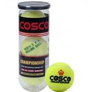 Cosco Championship Tennis Ball in Petcan (Pack of 3) at Lowest Price