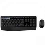 Клавиатура Logitech Wireless Combo MK345, Черна, 920-006489
