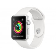 Умные часы Apple Watch Series 3 38mm Silver Aluminum Case with White Sport Band