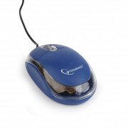 Mouse Gembird MUS-U-01-BT Albastru / Transparent