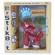 Goliath stikbot speelfiguur aap rood 6 cm