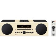 Yamaha Mcr-B043be Micro Hi Fi Bluetooth Potenza 30 Watt Lettore Cd / Mp3 Radio Fm Subwoofer Incluso Aux Usb Colore Beige - Mcr-B043be