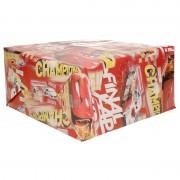 Disney rood inpakpapier Cars champions 200 x 70 cm op rol
