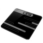 Body Scale Glass Smart Electronic Scales USB Charging LCD