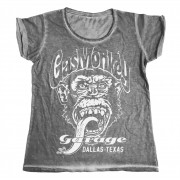 Gas Monkey Garage - Dallas, Texas Urban Girly Tee