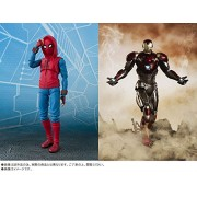 Bandai S.H.Figuarts Spider and Iron Man Home Made Suit (47)