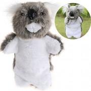 SUNONE11 Soft Plush Koala Hand Puppets Finger Toys Baby Kids Animal Story Game Education Props for Children Birthday Christmas Gift