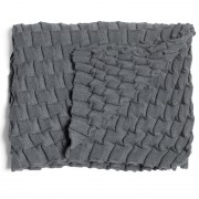 Design House Stockholm Curly plaid grijs