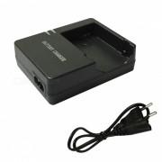 Cargador de bateria LP-E8 + cable cargador EU para Canon LPE8 700D - negro