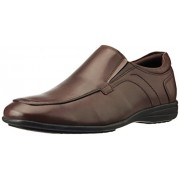 Hush Puppies Men's City Bounce-Slip On Brown Leather Formal Shoes - 8 UK/India (42 EU)(8544941)