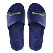 Havaianas Slippers Flipflops Slide Brasil Blauw