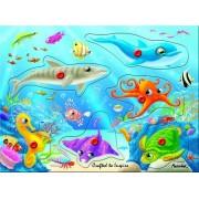 Underwater World - Wooden Peg Puzzle
