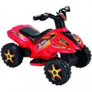 ATV electric cu pedala acceleratie - Rosu