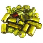 Asianhobbycrafts Loose glass beads for jewelery making and home decoration 300gm mixing for jewellery making (Medium)