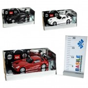 Distribuzioni giocattoli modellino mercedes sls amg gt3 con radiocomando scala 1:24 s4750/1038 assortiti (no scelta)