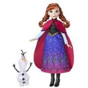 Papusa Hasbro Frozen Northern Lights Fashion Doll Anna