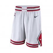 Short de NBA Chicago Bulls Nike Association Edition Swingman pour Homme - Blanc