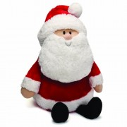 Grabadeal 2 Feet Christmas Big Beard Santa Claus Doll Stuffed Soft Toy
